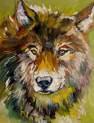 Painting - Leader Of The Pack by Diane Whitehead