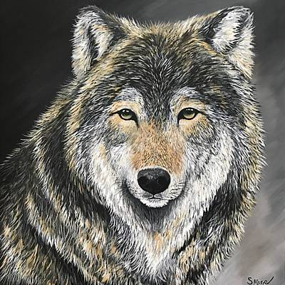 Painting - Leader Of The Pack by Shannon Marie Schacht