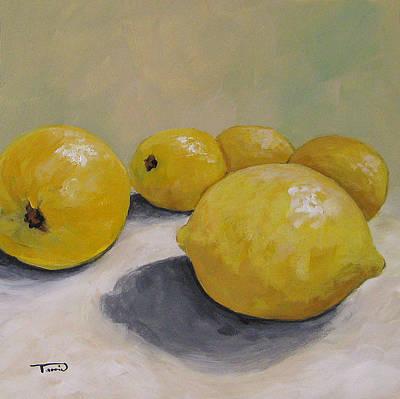 Lemon Painting - Leader Of The Pack by Torrie Smiley