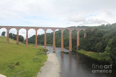Photograph - Leaderfoot Viaduct by David Grant