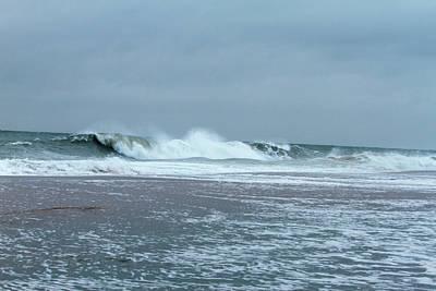 Photograph - Leading Edge Of Hurricane Jose by Allan Levin