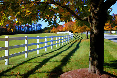 Photograph - Leading Lines  by Allen Beatty