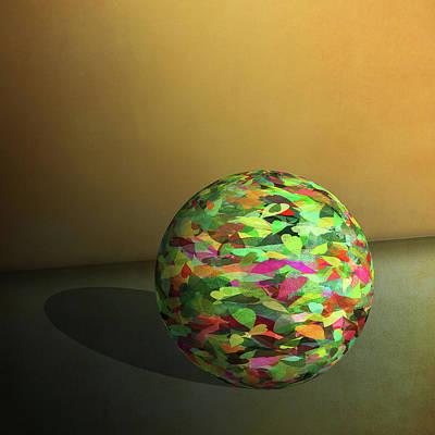 Leaf Ball -  Art Print