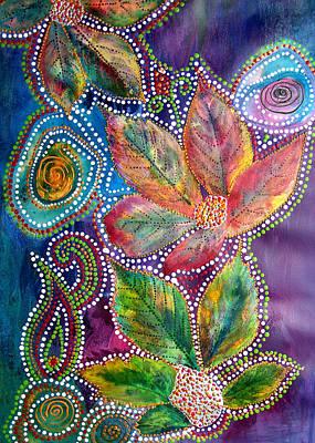 Leaf Fiesta Art Print