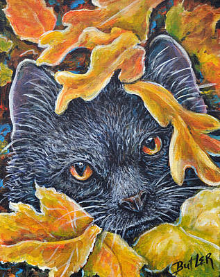 Painting - Leaf Jumper by Gail Butler