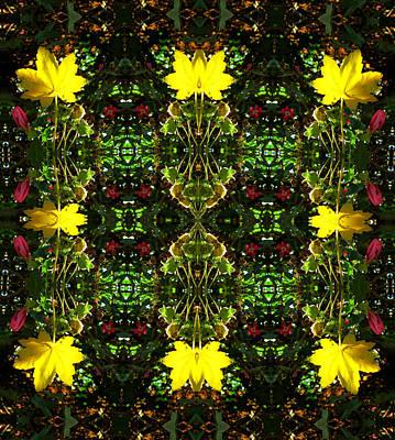 Digital Art - Leaf Lattice by Max DeBeeson