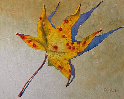 Painting - Leaf Shadow by Barb Toland