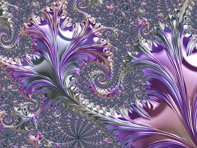 Digital Art - Leaf Shine II by Susan Maxwell Schmidt