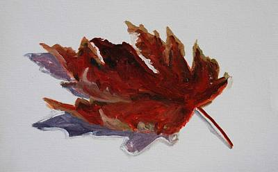 Painting - Leaf Study by Billie Colson