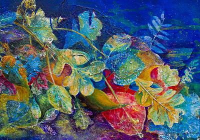 Leafin An Imprint Art Print by Jo-Anne Gazo-McKim