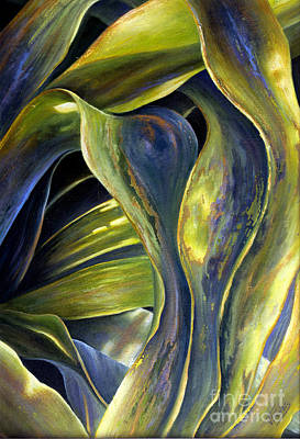 Painting - Leafy Entanglement by Valerie Travers