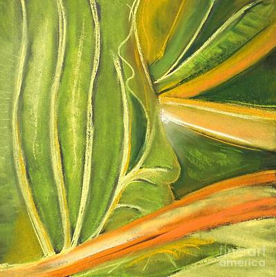 Pastel - Leafy Greens by Valerie Reeves
