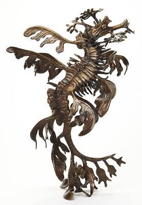 Leafy Original by Kirk McGuire Bronze Sculpture