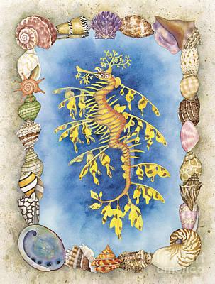 Leafy Sea Dragon Original by Lucy Arnold
