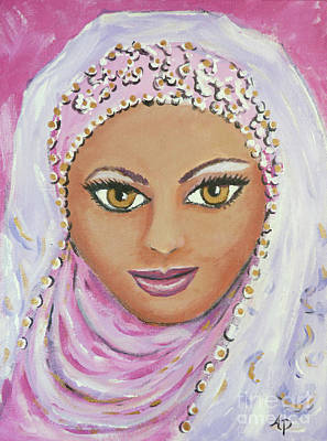Painting - Israeli Beauty by Audrey Peaty