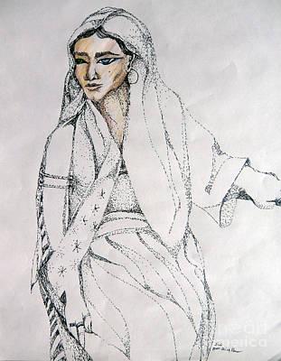 Leah Art Print by Mindy Newman