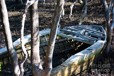Photograph - Leaky Boat by Stuart Row