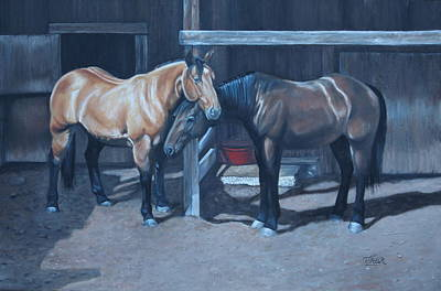 Painting - Lean On Me by Tammy Taylor
