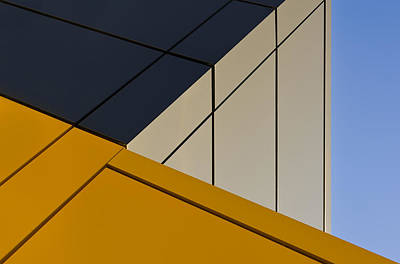 Shape Photograph - Leaning Against The Blue Sky by Gerard Jonkman