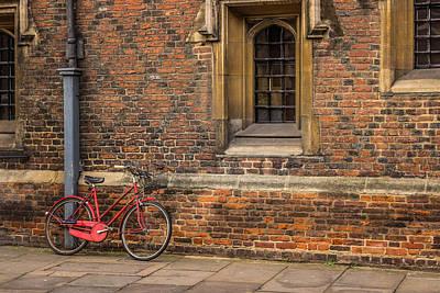 Photograph - Leaning by David Warrington
