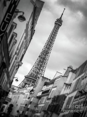 Photograph - Leaning Eiffel Tower by Delphimages Photo Creations