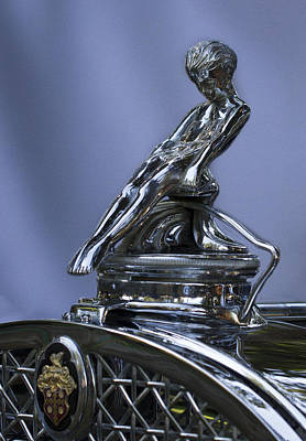 Photograph - Adonis Sliding Boy Packard Ornament by Jean Noren