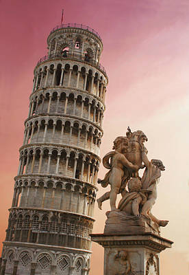 Stone Buildings Photograph - Leaning Tower by Dan Breckwoldt