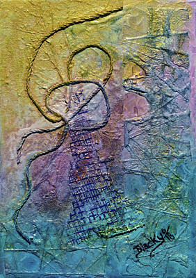 Painting - Leaning Tower by Donna Blackhall