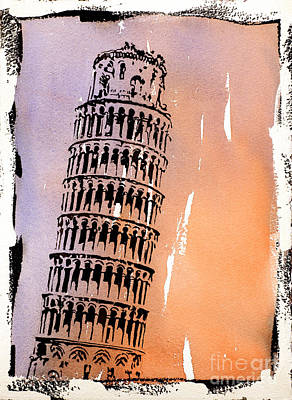 Leaning Tower- Italy Original
