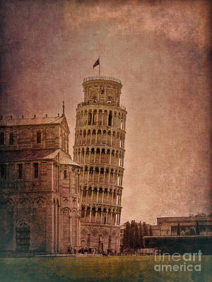 Photograph - Leaning Tower Of Pisa 2 by Sue Melvin