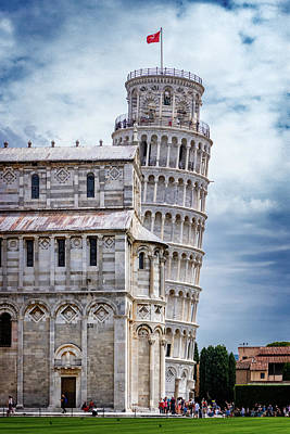 Photograph - Leaning Tower Of Pisa by Carolyn Derstine