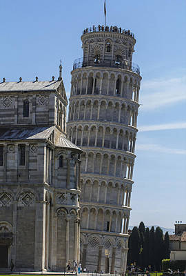 Pendente Photograph - Leaning Tower Of Pisa by Frank Fullard