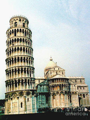 Photograph - Leaning Tower Of Pisa, Italy by Merton Allen
