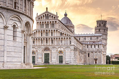 Pendente Photograph - Leaning Tower Of Pisa by Jeff Saunders
