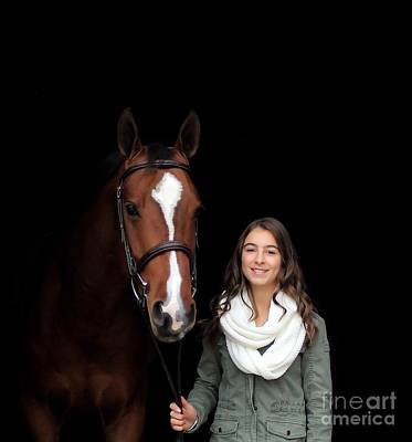 Photograph - Leanna Gino 26 by Life With Horses