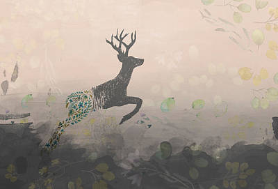 Leap Of Faith Art Print