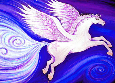 Painting - Leap Of Faith by Claire Johnson