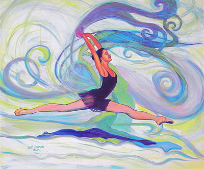 Leap Of Joy Art Print by Jeanette Jarmon
