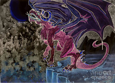 Mixed Media - Leaping Dragon 2 by Reed Novotny
