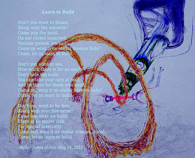 Fusion Drawing - Learn To Build by Walter Idema