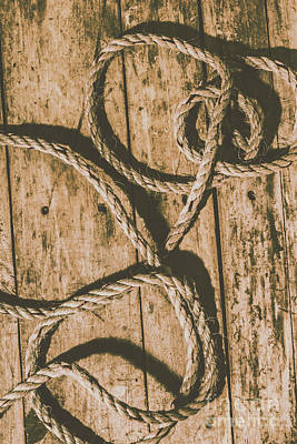 Materials Photograph - Learning The Ropes by Jorgo Photography - Wall Art Gallery