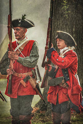 Seven Years War Photograph - Learning The Ropes by Randy Steele