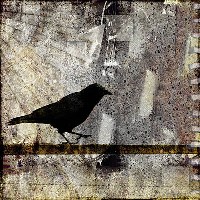 Corvid Photograph - Learning To Navigate by Carol Leigh