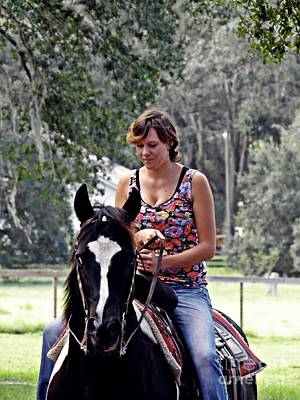 Photograph - Learning To Ride 3 by Sarah Loft