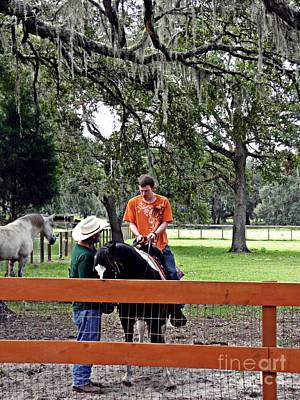 Photograph - Learning To Ride 4 by Sarah Loft