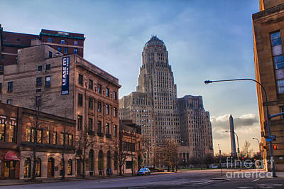 Buffalo City Hall Photograph - Lease It by Chuck Alaimo