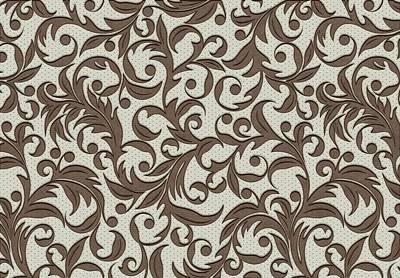 Digital Art - Leather Pattern. Branches by Anton Kalinichev