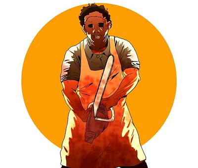 Comics Royalty-Free and Rights-Managed Images - Leatherface by Jorgo Photography - Wall Art Gallery