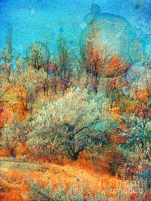 Leave It To The Trees To Dance In The Cold Art Print by Tara Turner