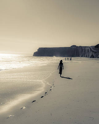 Photograph - Leave Nothing But Footprints by Alex Lapidus